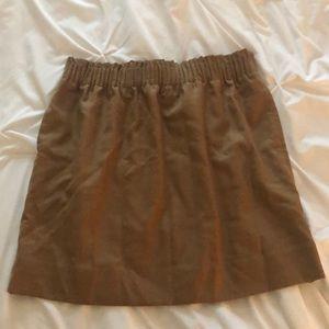Tan Pencil Skirt Jcrew Factory